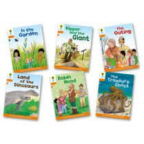 Oxford Reading Tree: Level 6: Stories: Pack of 6