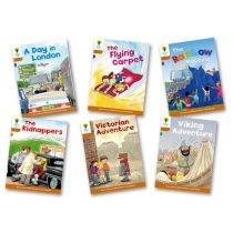 Oxford Reading Tree: Level 8: Stories: Pack of 6