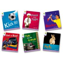 Oxford Reading Tree: Level 1+: Floppy's Phonics Non-Fiction: Pack of 6