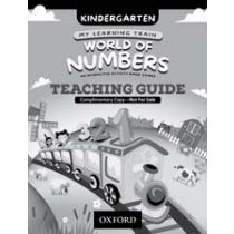 My Learning Train: World of Numbers Kindergarten Teaching Guide