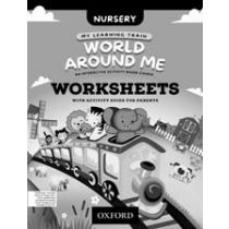 My Learning Train: World Around Me Nursery Worksheets Booklet