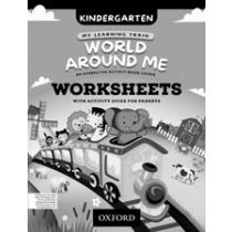 My Learning Train: World Around Me Kindergarten Worksheets Booklet