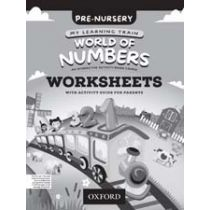 My Learning Train: World of Numbers Pre-Nursery Workbook