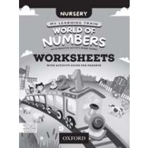 My Learning Train: World of Numbers Nursery Workbook