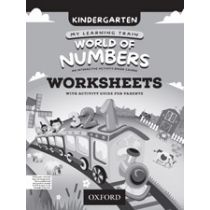 My Learning Train: World of Numbers Kindergarten Workbook