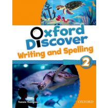 Oxford Discover Level 2 Writing & Spelling Book