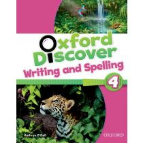 Oxford Discover Level 4 Writing & Spelling Book