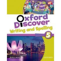 Oxford Discover Level 5 Writing & Spelling Book
