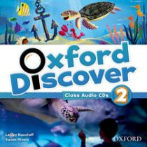 Oxford Discover Level 2 Class Audio CD (3)