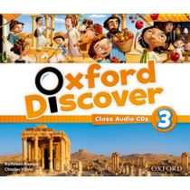 Oxford Discover Level 3 Class Audio CD (3)