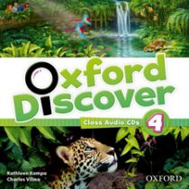 Oxford Discover Level 4 Class Audio CD (3)