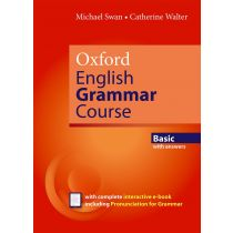 Oxford English Grammar Course Basic with Key (includes e-book)