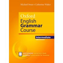 Oxford English Grammar Course Intermediate with Key (includes e-book)