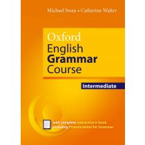 Oxford English Grammar Course Intermediate without Key (includes e-book)