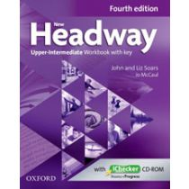 New Headway Upper-Intermediate: Workbook and iChecker with Key (Fourth Edition)