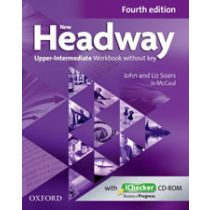 New Headway Upper-Intermediate: Workbook and iChecker without Key (Fourth Edition)