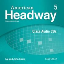 American Headway Second Edition Level 5: Class Audio CDs