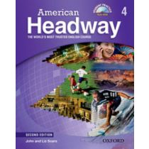 American Headway Second Edition Level 4: Student Book with Multi-ROM