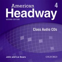 American Headway Second Edition Level 4: Class Audio CDs