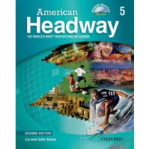American Headway Second Edition Level 5: Student book with Multi-ROM