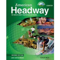 American Headway Second Edition Starter: Student Book with Multi-ROM