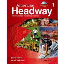 American Headway Second Edition Level 1: Student Book with Multi-ROM