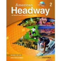 American Headway Second Edition Level 2: Student Book with Multi-ROM