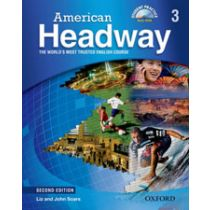 American Headway Second Edition Level 3: Student Book with Multi-ROM