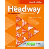 New Headway Pre-Intermediate: Workbook and iChecker with Key (Fourth Edition)