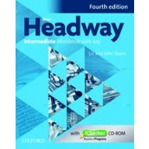 New Headway Intermediate: Workbook and iChecker with Key (Fourth Edition)