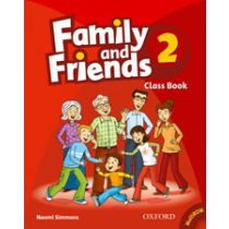 Family and Friends Level 2 Classbook and MultiROM Pack