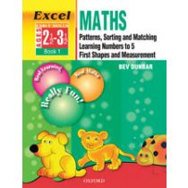Excel Maths Early Skills Combined Book 1