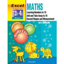 Excel Maths Early Skills Combined Book 2