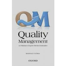 Quality Management in Pakistan's Export-Oriented Industries