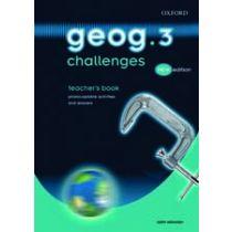 Geog.3 Challenges Teacher's Book 2/E