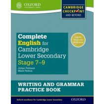 Complete English for Cambridge Lower Secondary Writing and Grammar Practice Book (First Edition)