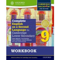 Complete English as a Second Language for Cambridge Lower Secondary Student Workbook 9