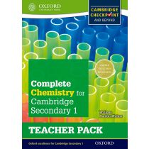Complete Science for Cambridge Secondary 1 Chemistry Teacher's Pack