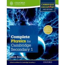 Complete Science for Cambridge Secondary 1 Physics Student Book