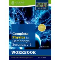 Complete Science for Cambridge Secondary 1 Physics Workbook