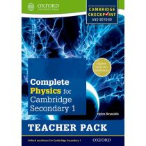 Complete Science for Cambridge Secondary 1 Physics Teacher's Pack