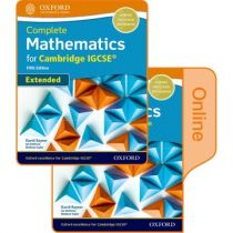 Complete Mathematics for Cambridge IGCSE® Student Book (Extended): Print & Online Student Book Pack