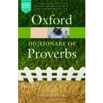 A Dictionary of Proverbs Sixth Edition