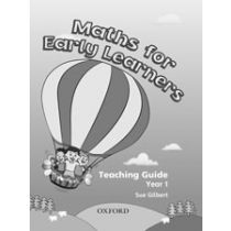 Maths for Early Learners, Year 1 Teaching Guide
