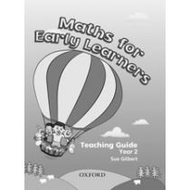 Maths for Early Learners, Year 2 Teaching Guide