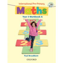International Pre-Primary Maths Year 3 Workbook A with CD