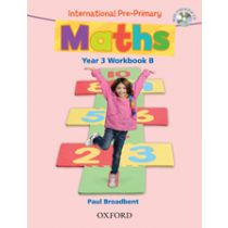 International Pre-Primary Maths Year 3 Workbook B with CD