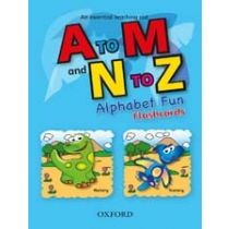 A to M and N to Z – Alphabet Fun (Flashcards)