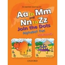 Aa to Mm and Nn to Zz Join the Dots – Alphabet Fun (Flashcards)