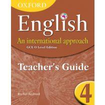 Oxford English: An International Approach Teaching Guide 4